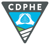 Colorado Department of Public Health and Environment Logo